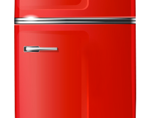 I Pinned A Red Refrigerator On Pinterest…