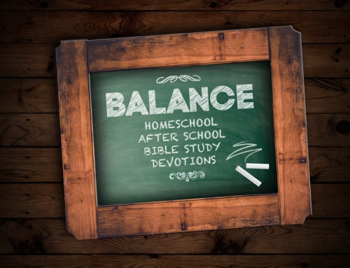 Finding Balance in Homeschool, or after school, Bible Study and Devotions: