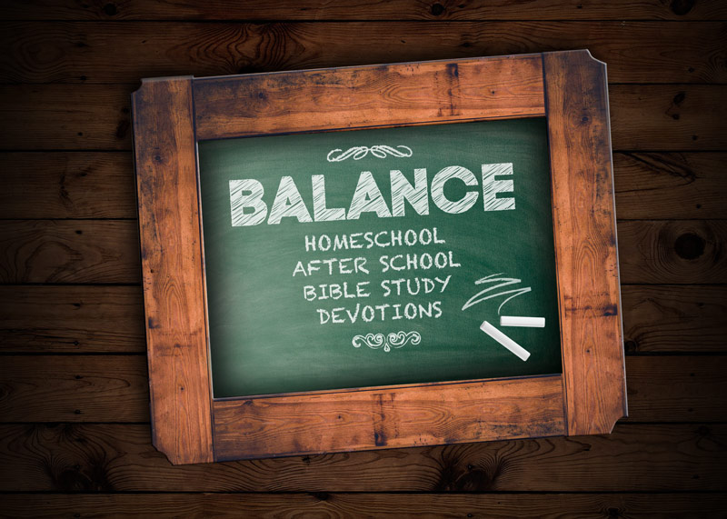 Finding balance in your homeschool Bible curriculum and personal devotions